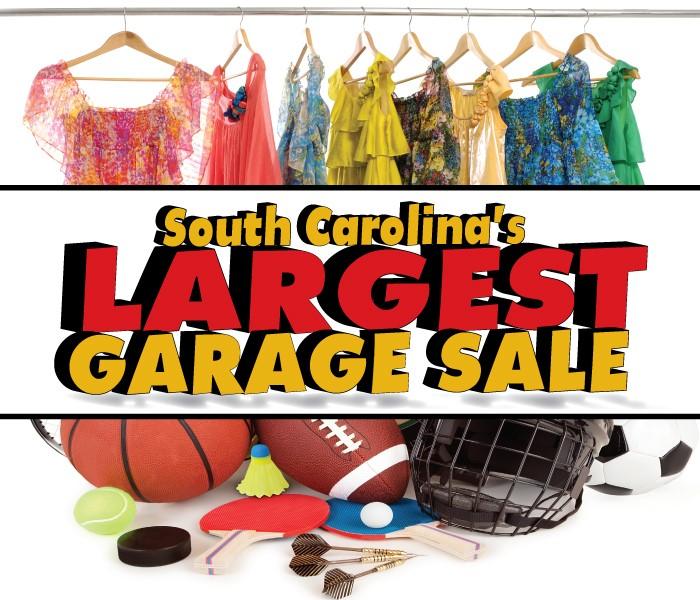South Carolina's Largest Garage Sale-2017