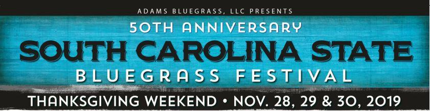 SC Bluegrass Festival 2019