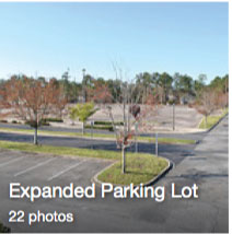 Extended Parking Lot