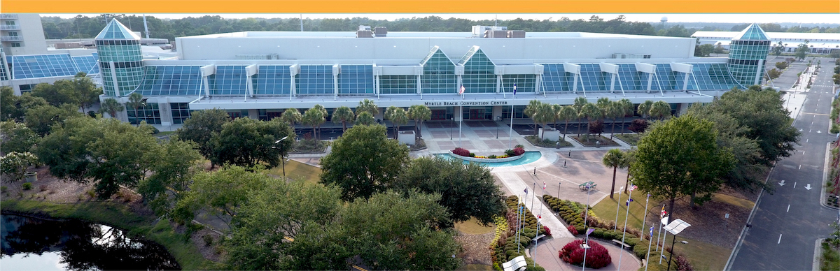 Myrtle Beach Convention Center aerial view