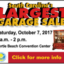 South Carolina's Largest Garage Sale Myrtle Beach Convention Center