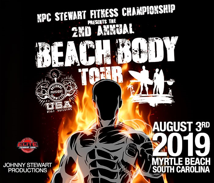 Stewart Fitness Body Building Competition